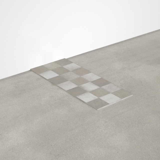 Carl Andre, 'Aluminum Σ 21', 2006, Wright