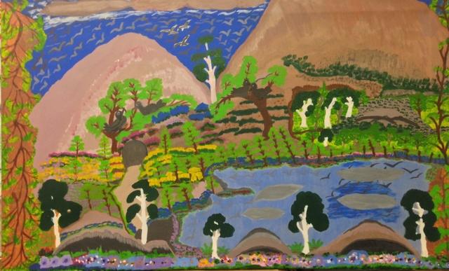 , 'Billabongs at Roper River ,' 1996, Rebecca Hossack Art Gallery
