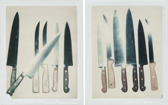 Andy Warhol, 'Knives', 1981, Christie's Warhol Sale