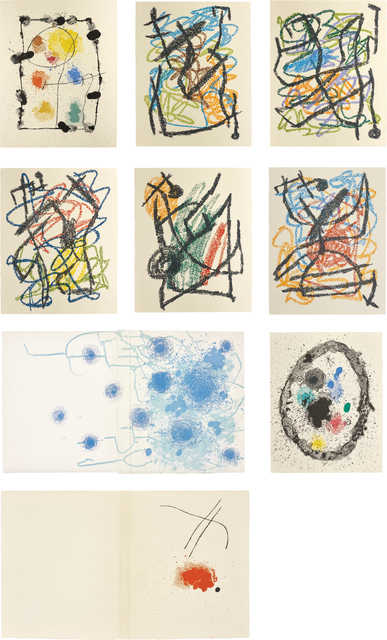 Joan Miró, 'Je travaille comme un Jardinier (I Work as a Gardener)', 1963, Phillips