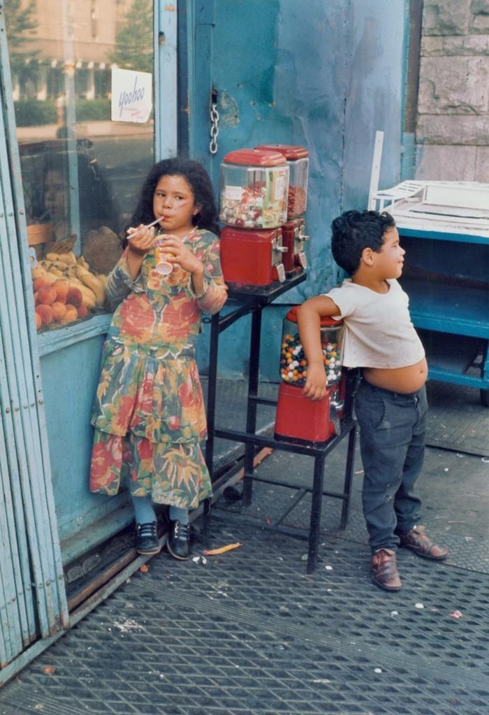 Untitled,(Children with Gumball Machine)