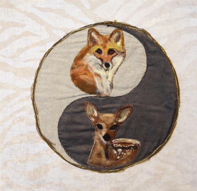 , 'Fox/Fawn,' 2017, Fountain House Gallery
