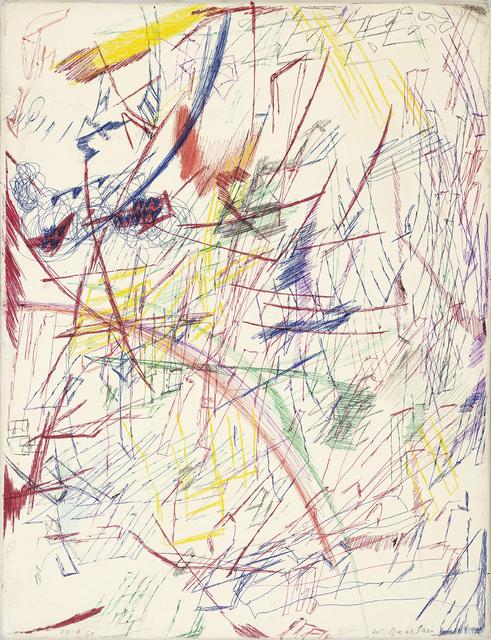 , 'Untitled (10.4.60),' 1960, Galerie Jocelyn Wolff