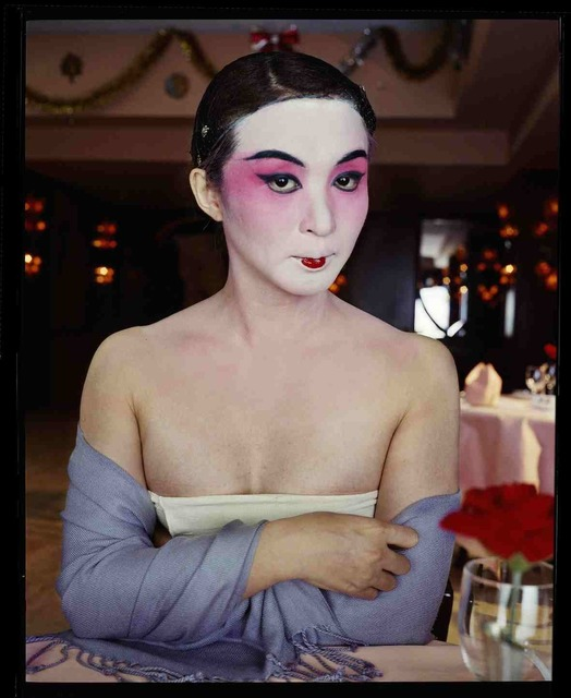 , 'Jin xing, maquillage traditionnel de l'opéra de Pékin, Phase I, avril 2002, Shanghai 金星,京剧传统妆容,2002年4月,上海,' 2002, Shanghai Gallery of Art
