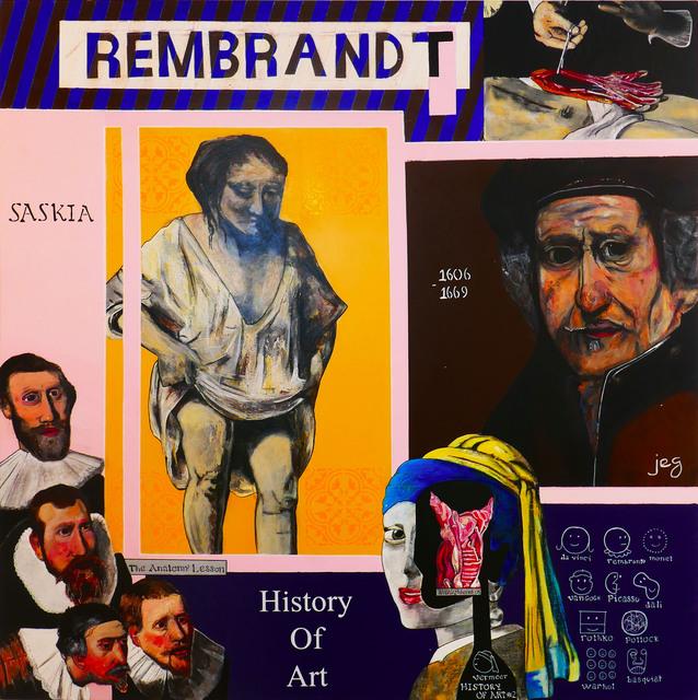 , 'Rembrandt,' 2018, No Galerie