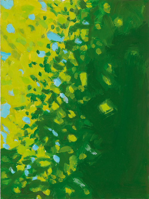 Alex Katz, 'Yellow  and  Green', 2005, Monica De Cardenas