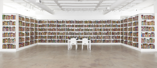 , 'African Library,' 2018, Goodman Gallery