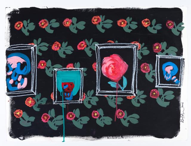 , 'Paintings on Flower Wall,' , ACA Galleries