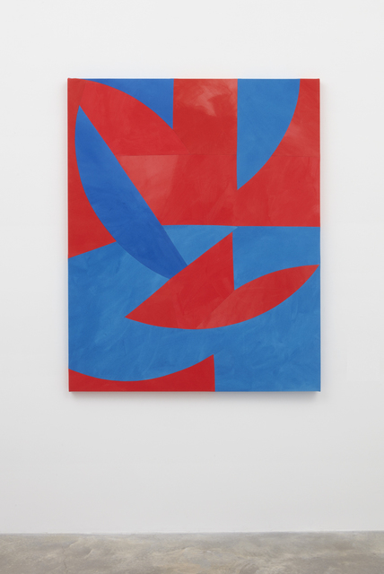 , 'Rotating Blue and Red Circles,' 2017, Casey Kaplan