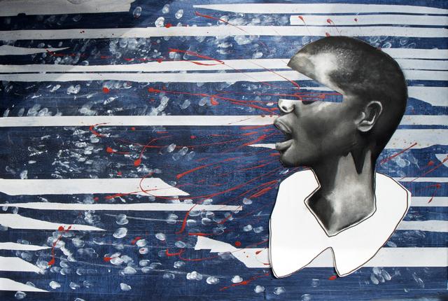 Nkechi Ebubedike, 'Bright Girls #9', 2019, Painting, Acrylic and Charcoal on Paper, TAFETA