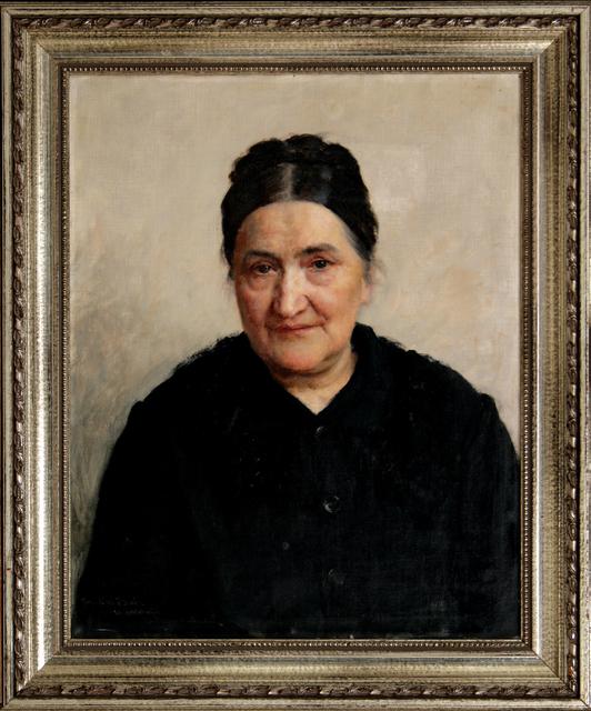 VLAHO BUKOVAC, 'Portrait of Katarina Bibica', 1891, Museum of Modern Art Dubrovnik