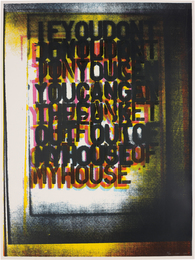 Christopher Wool, 'My House I,' 2000, Phillips: Evening and Day Editions