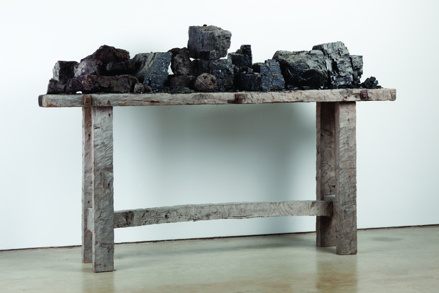 , 'Table with Peat and Coal,' 1982, Annely Juda Fine Art