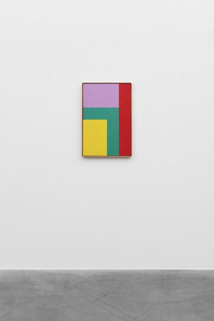 , 'Komplementär betonte raumgleiche Elemente,' 1963, von Bartha