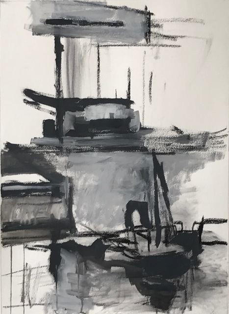 , 'Newtown Creek 2,' 2019, Bowery Gallery