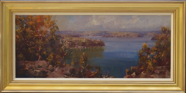 , 'Pittwater from McKay Reserve,' , Wentworth Galleries