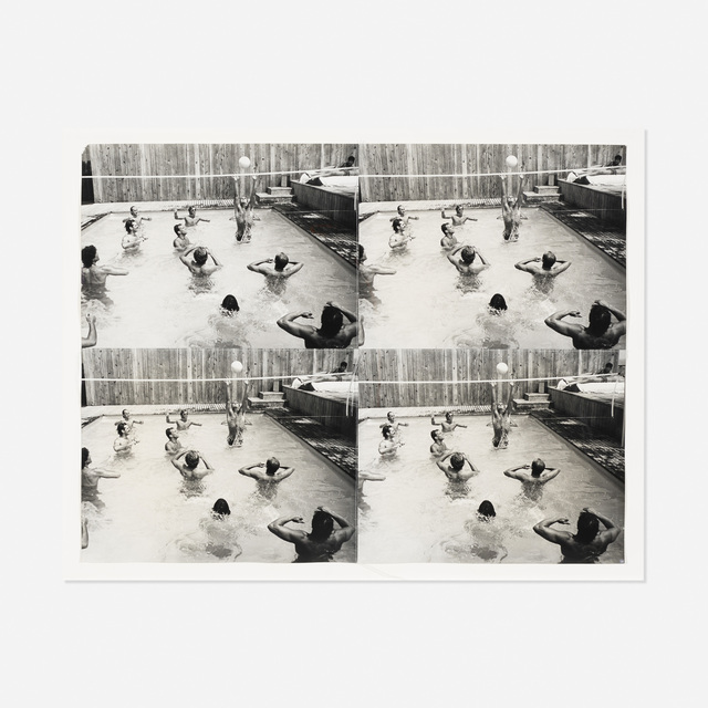 Andy Warhol, 'Pool Party', 1986, Rago/Wright