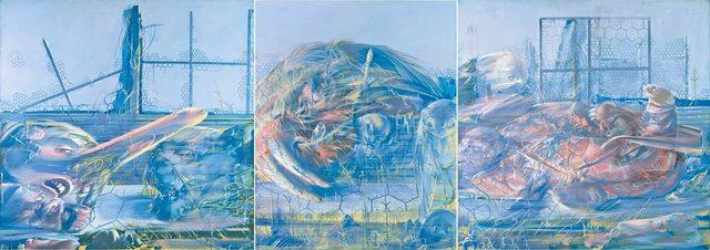 , 'Boukoko Triptyque,' 1975, Jeanne Bucher Jaeger