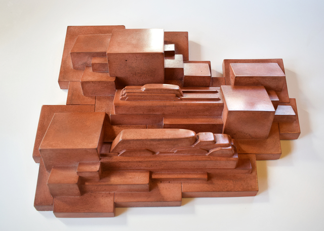 David Rudolph, 'Son of Offramp Memory - Terra Cotta', Modernist Frontier