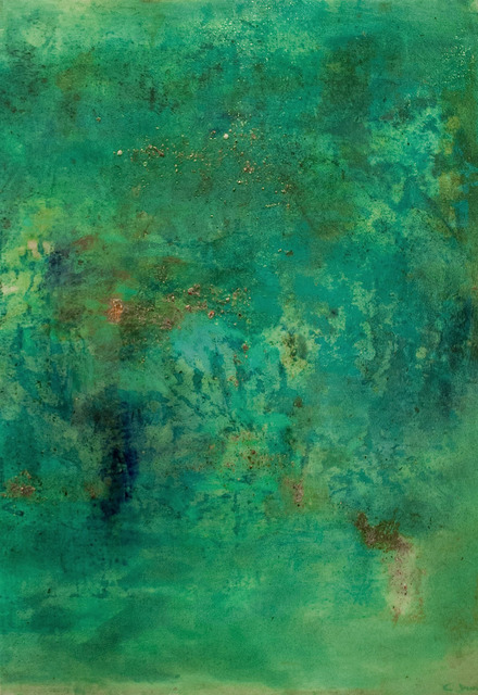 , 'Emerald Sea,' 2013, Wide Painting