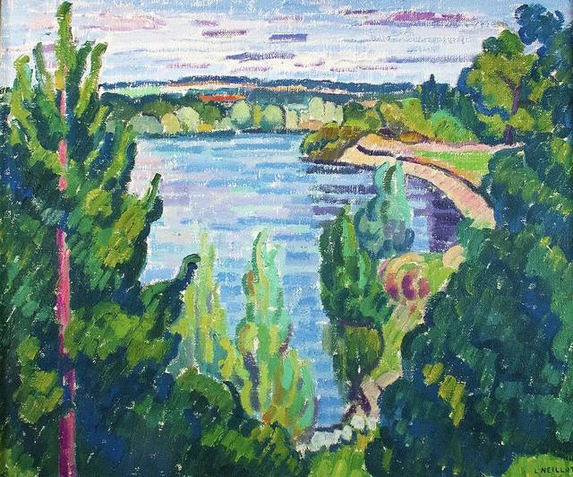 , 'L'Allier à Châtel de Neuvre,' 1968, R. S. Johnson Fine Art