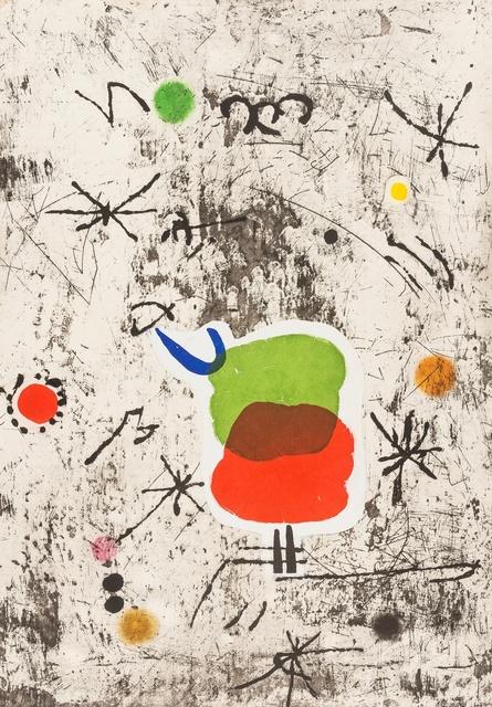 Joan Miró, 'Persontage I Estels I (Dupin 1088)', 1979, Forum Auctions