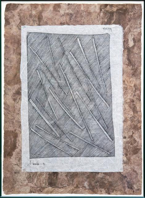 , 'Sin titulo dibujo (sobre papel amate),' 1991, Henrique Faria Fine Art