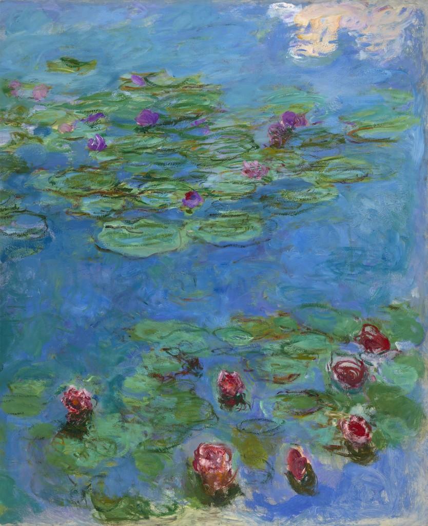 Claude Monet Water Lilies Ca 1914 1917