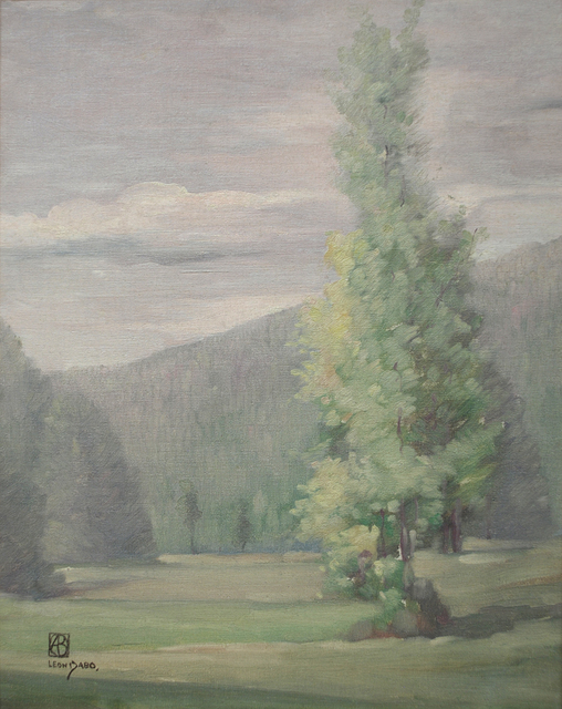 , 'Trees Invade the Fields,' ca. 1900, Sullivan Goss