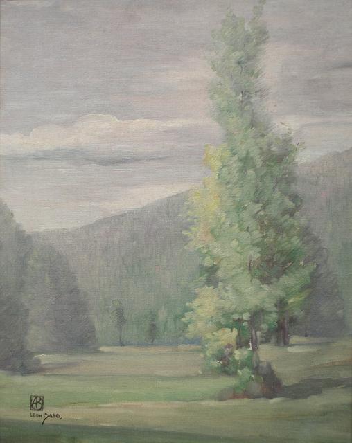 , 'Trees Invade the Fields,' ca. 1900, Sullivan Goss
