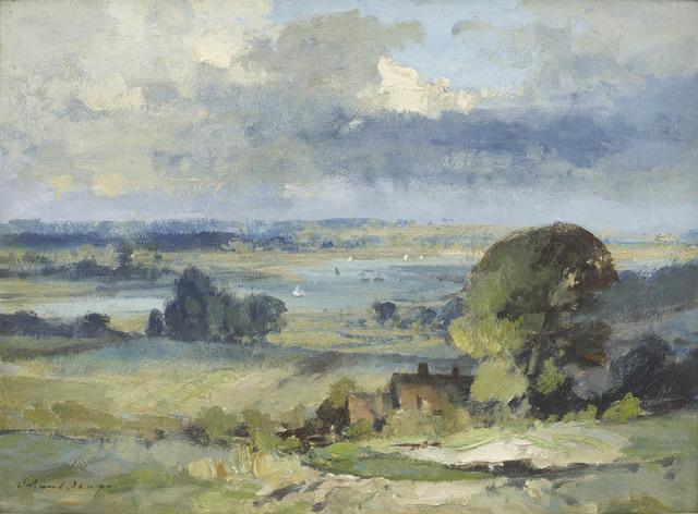 , 'Valley of the Deben,' , Portland Gallery