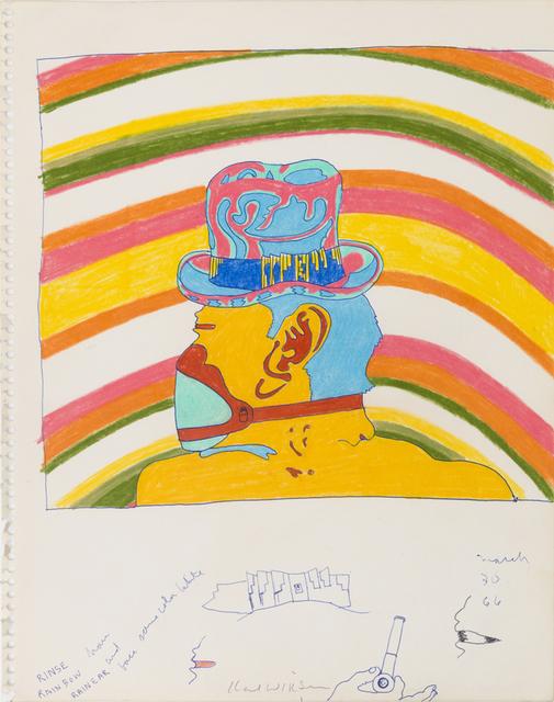 , 'Rainbow Gila Teen (Study for Gila Teen),' 1966, Derek Eller Gallery