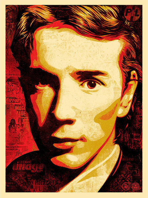 Shepard Fairey, 'A Product of Your Society - John Lydon', 2016, Print, Silkscreen print, ICA London Benefit Auction