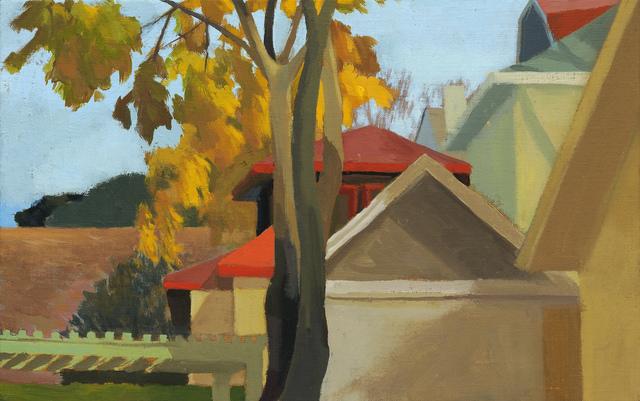 Celia Reisman, 'Red Roofs', 2011, Paul Thiebaud Gallery