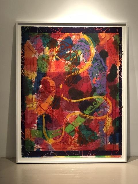 Frank Stella, 'Estoril Five II', 1982, Anders Wahlstedt Fine Art