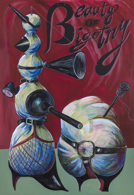 , 'Beauty of Bigotry,' 2017, Zilberman Gallery