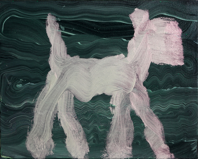 Peter Mayer, 'Dog Painting 11', 1990, RoGallery