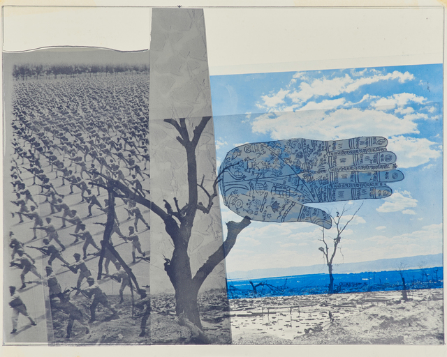 Robert Rauschenberg, 'WArt', 1970, Print, Double-sided lithograph in colors, Rago/Wright