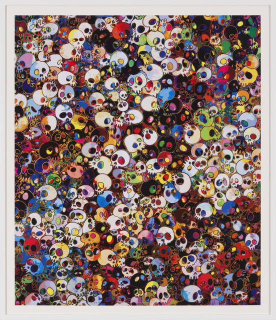 , 'There are little people inside me,' 2010, Gagosian