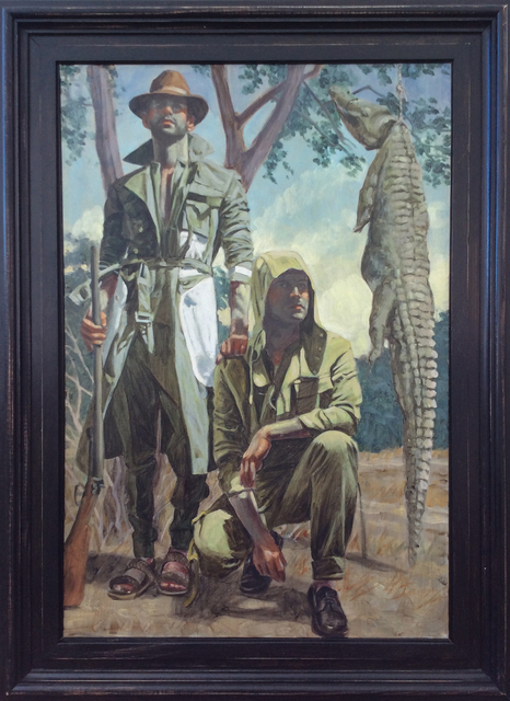 , 'Two Men with Crocodile,' , Carrie Haddad Gallery
