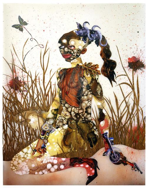 , 'In Killing Fields Sweet Butterfly Ascend,' 2003, rosenfeld porcini