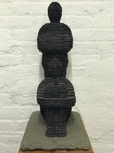 , 'Benayahu and Yoas,' 2017, SPONDER GALLERY