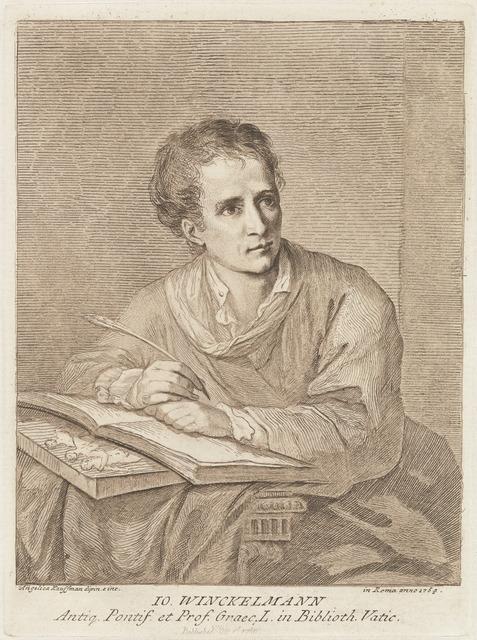 Angelica Kauffmann, 'Johann Winckelmann', 1780, National Gallery of Art, Washington, D.C.
