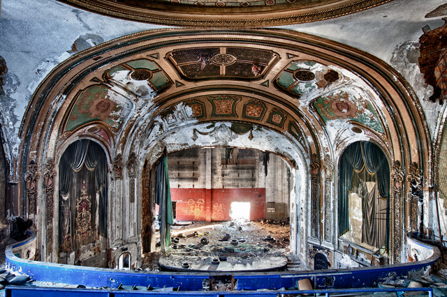 , 'Eastown Proscenium,' , Chicago Art Source