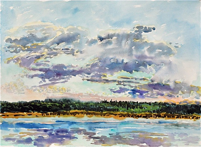 Catherine Perehudoff, 'Early Evening', 2011, Newzones