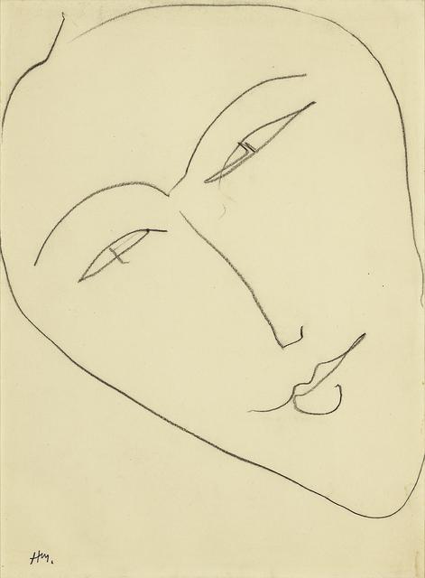 , 'Tête de femme,' 1952, Hammer Galleries