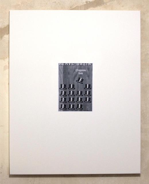 , 'Untitled (Chapeau bas, front),' 2012, Clages