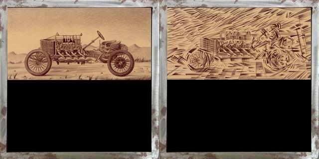 , 'Auto ferma/Auto che sfreccia (Still car/Flash car),' 2018, MLB Home Gallery