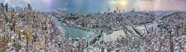 Murat Germen, 'Muta-morphosis, Istanbul Galata Tower #01', 2015, C.A.M Galeri