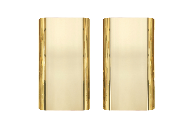 , 'Pair of 1970s Brass Sconces by Steve Chase ,' ca. 1970, On Madison